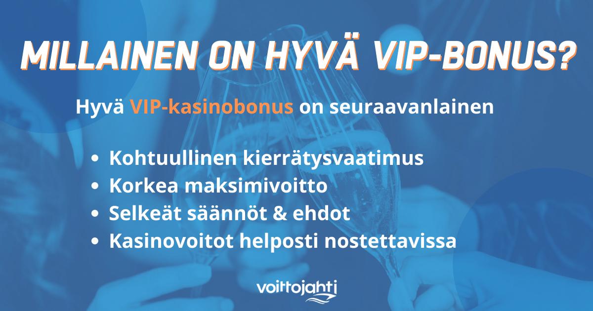 VIP kasinobonus