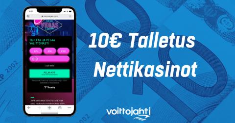 10 euron talletus nettikasino | Voittojahti.com
